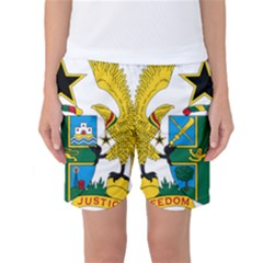 Coat of Arms of Ghana Women s Basketball Shorts