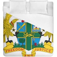 Coat of Arms of Ghana Duvet Cover (King Size)