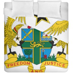 Coat of Arms of Ghana Duvet Cover Double Side (King Size)