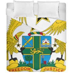 Coat of Arms of Ghana Duvet Cover Double Side (California King Size)