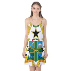 Coat of Arms of Ghana Camis Nightgown