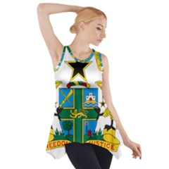 Coat of Arms of Ghana Side Drop Tank Tunic