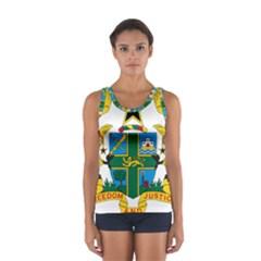 Coat of Arms of Ghana Women s Sport Tank Top