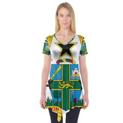 Coat of Arms of Ghana Short Sleeve Tunic