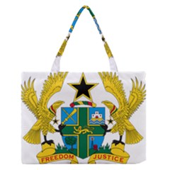 Coat of Arms of Ghana Medium Zipper Tote Bag