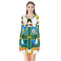 Coat of Arms of Ghana Flare Dress