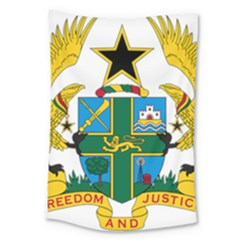 Coat of Arms of Ghana Large Tapestry
