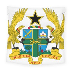 Coat of Arms of Ghana Square Tapestry (Large)