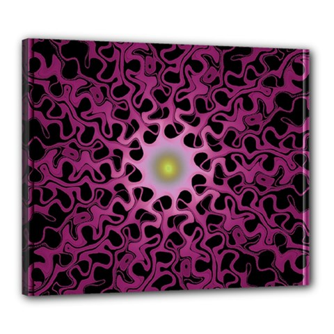 Cool Fractal Canvas 24  x 20