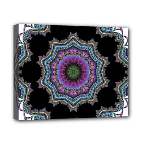 Fractal Lace Canvas 10  X 8