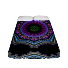Fractal Lace Fitted Sheet (full/ Double Size)