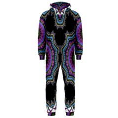 Fractal Lace Hooded Jumpsuit (Men)
