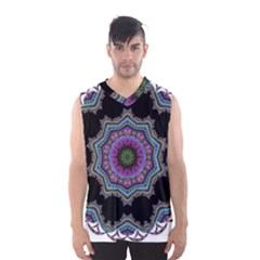 Fractal Lace Men s Basketball Tank Top