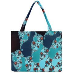 Decorative Fractal Background Mini Tote Bag