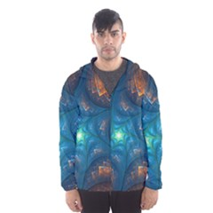 Fractal Star Hooded Wind Breaker (Men)