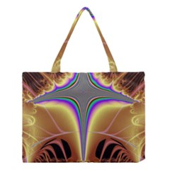 Symmetric Fractal Medium Tote Bag