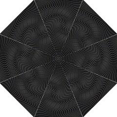 Distorted Net Pattern Golf Umbrellas