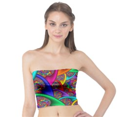 Color Spiral Tube Top