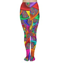 Color Spiral Women s Tights