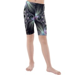 Beautiful Curves Kids  Mid Length Swim Shorts