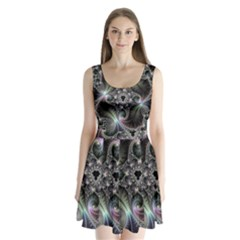 Beautiful Curves Split Back Mini Dress