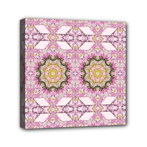 Floral Pattern Seamless Wallpaper Mini Canvas 6  x 6
