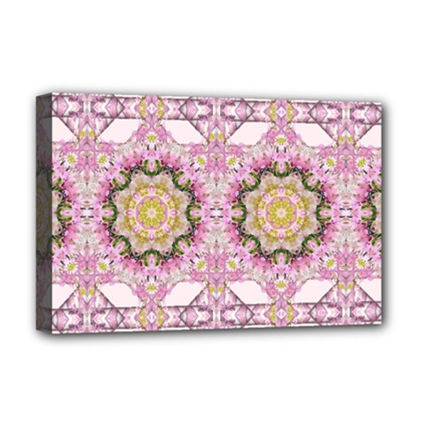 Floral Pattern Seamless Wallpaper Deluxe Canvas 18  x 12
