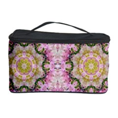 Floral Pattern Seamless Wallpaper Cosmetic Storage Case