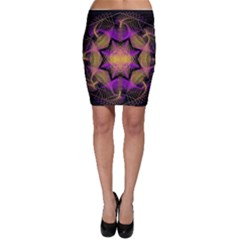 Pattern Design Geometric Decoration Bodycon Skirt