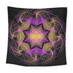 Pattern Design Geometric Decoration Square Tapestry (large)