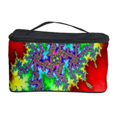 Colored Fractal Background Cosmetic Storage Case