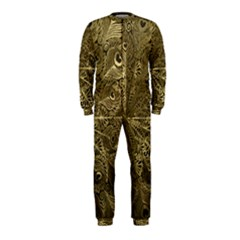 Peacock Metal Tray Onepiece Jumpsuit (kids)