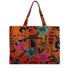 Colorful The Beautiful Of Art Indonesian Batik Pattern Mini Tote Bag