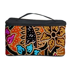 Colorful The Beautiful Of Art Indonesian Batik Pattern Cosmetic Storage Case