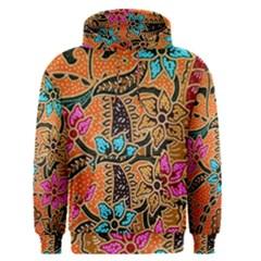 Colorful The Beautiful Of Art Indonesian Batik Pattern Men s Pullover Hoodie