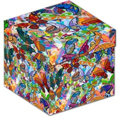 Color Butterfly Texture Storage Stool 12