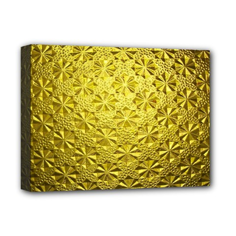 Patterns Gold Textures Deluxe Canvas 16  x 12