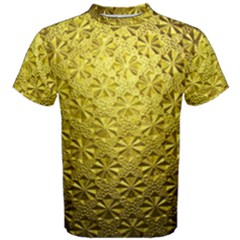 Patterns Gold Textures Men s Cotton Tee