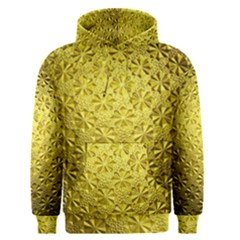 Patterns Gold Textures Men s Pullover Hoodie