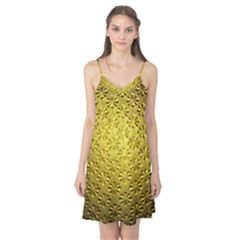 Patterns Gold Textures Camis Nightgown