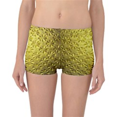 Patterns Gold Textures Reversible Bikini Bottoms