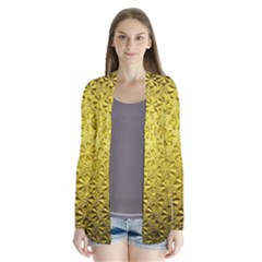 Patterns Gold Textures Cardigans