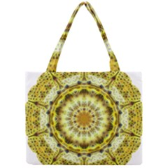 Fractal Flower Mini Tote Bag