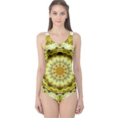 Fractal Flower One Piece Swimsuit