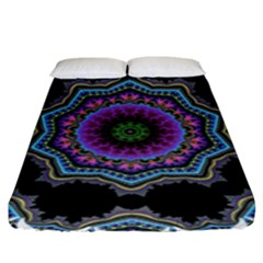 Fractal Lace Fitted Sheet (king Size)