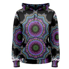 Fractal Lace Women s Pullover Hoodie