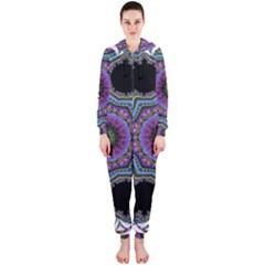 Fractal Lace Hooded Jumpsuit (ladies)