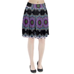 Fractal Lace Pleated Skirt