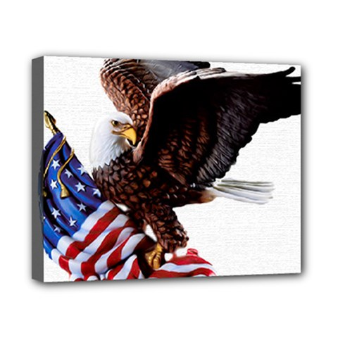 Independence Day United States Canvas 10  X 8