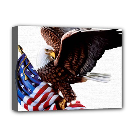 Independence Day United States Deluxe Canvas 16  x 12